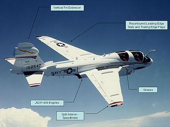 Airplane Picture - EA-6B ADVCAP