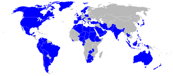 Airplane Picture - Countries operating the C-130 in December 2006