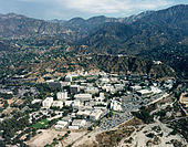 Aircraft Picture - Jet Propulsion Laboratory complex in Pasadena, California