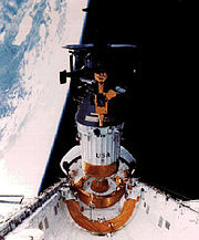 Aircraft Picture - Deep space mission deployed by shuttle, 1989