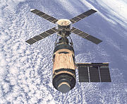 Aircraft Picture - Skylab space station, 1974