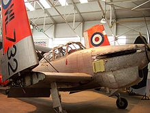 Aircraft Picture - A Boulton Paul Sea Balliol T.21 on display at the RAF Museum Cosford