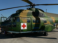 Aircraft Picture - Medevac version of the IAR 330