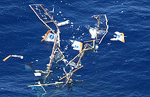 Aircraft Picture - Wreckage of Helios in the Pacific