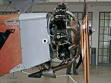 Aircraft Picture - Siemens Sh 14a engine installed in aircraft Rogozarski SIM-XI