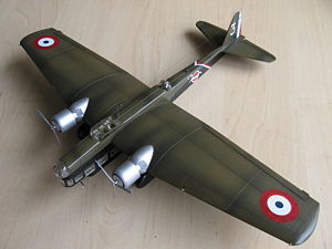 Airplane Picture - 1/72 scale model from Smer kit