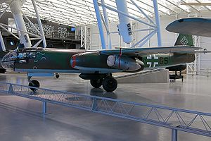 Airplane Picture - Arado Ar 234 B-2 at the National Air and Space Museum's Steven F. Udvar-Hx�zy Center