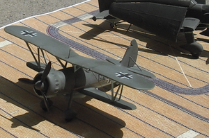 Airplane Picture - Model of an Ar 197