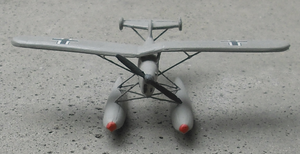 Airplane Picture - Arado Ar 231 Model front view shows the special wing construction