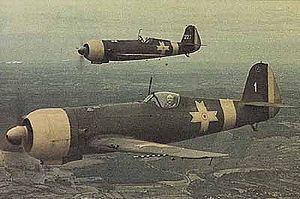 Airplane Picture - Pair of Romanian IAR 80s