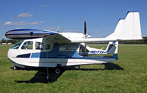 Airplane Picture - FN.333 No.002 built by SIAI-Marchetti in 1962, displayed at EAA AirVenture Oshkosh, in 2010.