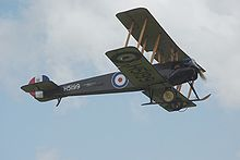 Airplane Picture - The Shuttleworth Avro 504K