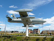 Airplane Picture - Argentine Navy MB-326 preserved at Rx�o Grande, Tierra del Fuego