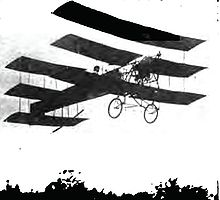 Airplane Picture - The A.V. Roe Bulls Eye, an early duplex triplane