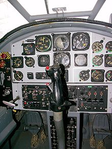 Airplane Picture - Bosbok cockpit