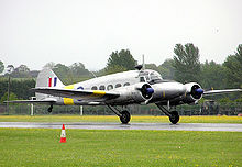 Airplane Picture - WD413, Air Atlantique Classic Flight Avro Anson