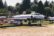 Airplane Picture - CF-100 Mk 3 at the Canadian Museum of Flight in July 1988