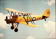 Airplane Picture - Avro Tutor 621 of the Shuttleworth Collection