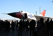 Airplane Picture - Avro Arrow replica at CASM Arrow rollout, 8 October 2006