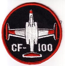 Airplane Picture - CF-100 badge worn by Canadian Forces crews in the 1970s and 80s