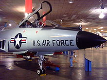 Airplane Picture - F-101B at Wings Museum, 2007.