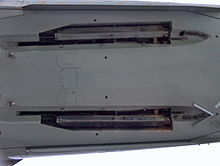 Airplane Picture - The AIM-4 Falcon side of the F-101B missile door