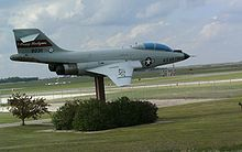 Airplane Picture - F-101F AF Serial Number 58-0311, located at Devils Lake Regional Airport, North Dakota