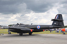 Airplane Picture - Gloster Meteor WA638, owned by Martin-Baker and used for ejection seat tests