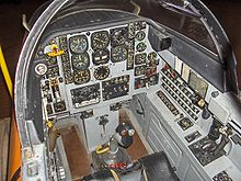Airplane Picture - MB326A cockpit