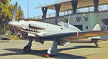 Airplane Picture - Macchi C.205 Veltro in service with the Italian Co-Belligerent Air Force C. 1943