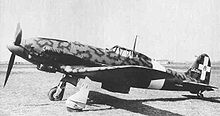 Airplane Picture - Regia Aeronautica C.205V with a North Africa dust filter