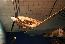 Airplane Picture - C.202 on display