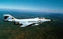 Airplane Picture - A two-seat McDonnell F-101B Voodoo of the Oregon Air National Guard