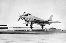 Airplane Picture - Landing the XF-88