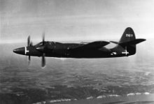 Airplane Picture - The XP-67 in flight.
