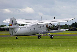 Airplane Picture - Private Lithuanian Antonov An-2 in the UK