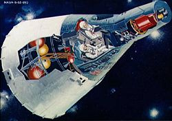 Airplane Picture - A cutaway of the Project Gemini spacecraft