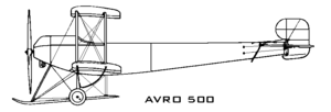Airplane picture - Avro 500