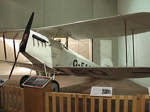 Warbird Picture - Bert Hinkler's Avro Baby in the Queensland Museum, Brisbane