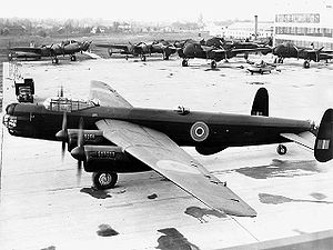 Warbird Picture - The only Canadian built Avro Lincoln.