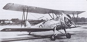 Warbird Picture - One of seven Avro Prefects used for navigation training at RAF Andover c. 1933