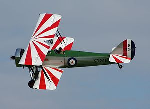 Warbird Picture - Avro Type 621 Tutor of the Shuttleworth Collection