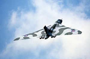 Warbird Picture - A Vulcan B.2 of the RAF
