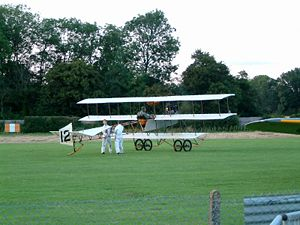 Warbird Picture - The Shuttleworth Collection's replica Roe IV Triplane