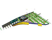 Airplane Picture - Space Shuttle wing cutaway