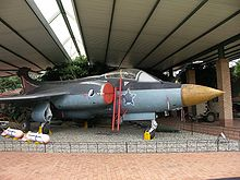 Airplane Picture - Retired Buccaneer S.50 at the South African National Museum of Military History