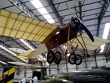 Airplane Picture - Replica at the Yorkshire Air Museum