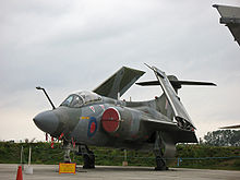 Airplane Picture - RAF Buccaneer S.2 with wings folded