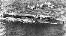 Airplane Picture - Baffins flying over HMS Furious circa 1936