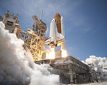 Airplane Picture - Space Shuttle Atlantis lifts off from Launch Pad 39A at NASA's Kennedy Space Center in Florida on the STS-132 mission to the International Space Station at 2:20 p.m. EDT on May 14. The last scheduled flight of Atlantis before it is retired.
